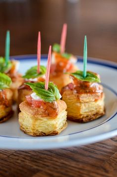 Tomato Basil Bites