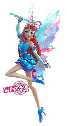"""Winx club Bloom """"mythix"""" 3D"""