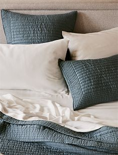 bedding Sateen Sheets, Bed Sheets, Metal Frame Chair, Oversized Furniture, Oak Shelves, Kiln Dried Wood, Pottery Barn Teen, West Elm, Leather Sofa