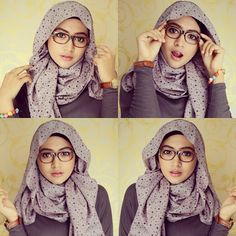 42 Hijab Tutorial - Natasha Farani ( Crinckle Scarf ) | Hijab is my ...