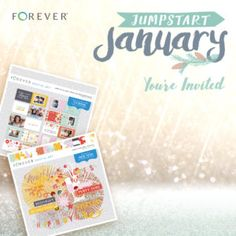 Come to my January Workshop and receive a gift code to purchase the Ring in the New Year Bundle by Rebecca Backes that includes more than $20 of digital content and a pre-designed 7×5 book for just $5. #Forever