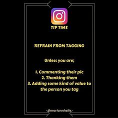 Tip time: When and why is it allowed to tag someone else in a post...  A few reasons are listed in the pic  but  also if they actually were together with you and they're ok with being tagged!  I could never understand why someone would tag me and I wasn't even there... QUESTION: Is there other times you think it's ok to tag someone else  Leave a comment below  and let's clarify this once and for all!!  Want to learn more about building your business online? JOIN the Networking Success Tips…