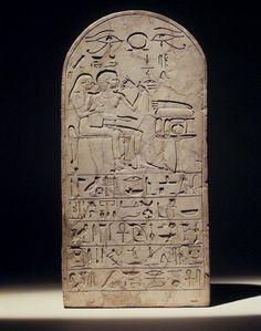 Stela of Senres and Hormose. ◦Medium: Limestone  ◦Place Made: Egypt  ◦Dates: ca. 1539-1425 B.C.E.  ◦Dynasty: XVIII Dynasty  ◦Period: New Kingdom