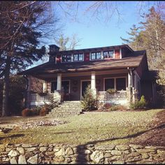 Lovely. Craftsman Bungalow, Blowing Rock, NC