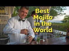 Best Mojito Recipe - Cuban Mojito - YouTube Cuban Mojito Recipe, Best Mojito Recipe, Cocktail Drinks, Cocktail Recipes, Alcoholic Drinks, Cocktails, Drink Recipes, Visit Cuba, Havana Cuba