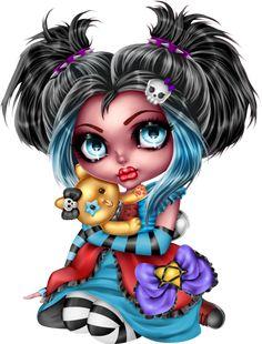 Image in Ladymishka_Wings goth album Cartoon Girl Images, Girl Cartoon, Cartoon Art, Image Nice, Dibujos Pin Up, Werewolf Art, Adornos Halloween, Girl Drawing Sketches, Drawings