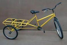 bicicleta triciclo de carga sem caixa