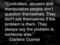 #Narcissists like to blame #Empaths for all their problems and often like to turn the table so that they assume the identity of the Empath in the eyes of a new Back-Up Person while demonising the true Empath as the Narc... #FxckedUp