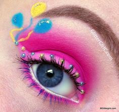 My Little Pony, Pinkie Pie Makeup. YouTube channel: https://www.youtube.com/user/GlitterGirlC