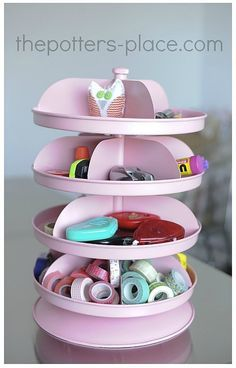 Craft Organization Ideas organizer from Harbor Freight - put plastic shield up to put more in each spot. Perhaps heavy duty transparencies with a w/ semicircle cut in frontBig Ideas Big Ideas may refer to: Scrapbook Organization, Craft Organization, Organizing Tips, New Crafts, Cute Crafts, Makeup Storage Bins, Storage Ideas, Tool Storage, Storage Solutions
