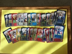 2016 Panini Football Various Players And Teams Lot Of 29 #Various