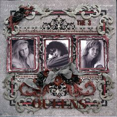 The 3 Queens - Scrapbook.com