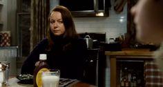 Samantha Morton   The Harvest (2013), directed by John McNaughton   Tags: #screencaps, horror movie, film, chocolate syrup, milk, side-eye