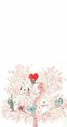 Bts wallpaper fanart chibi 25 Ideas for 2019 Bts Chibi, Lock Screen Wallpaper, Bts Wallpaper, Iphone Wallpaper, Bts Group Photo Wallpaper, Kawaii Wallpaper, Wallpaper Ideas, Bts Taehyung, Bts Jimin