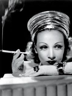 MARLENE DIETRICH  Photographed to promote the film Destry Rides Again, 1939.