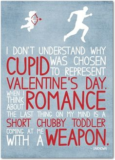 Only the Renaissance could come up with such a weirdo idea as a chubby baby as Cupid.