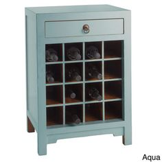 Chauvet Wine Cabinet | Overstock™ Shopping - Great Deals on Antique Revival Wine Racks