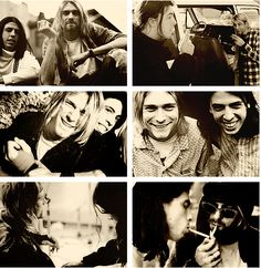 """i think about Kurt everyday. Every f*ing day..."" -Dave Grohl. It's so heartbreaking... :("