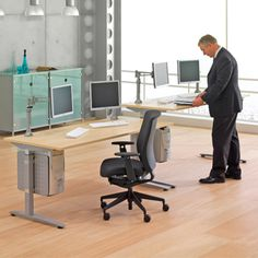 IFK Infinity Crank Adjustment Rectangular Desk