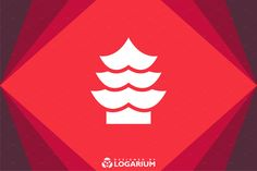 Asia Flat Logo Bundle by ToonPlanet Vector Assets on @creativemarket
