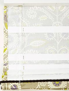How to Make Roman Shades. Yes! So much easier than what I was going to try!