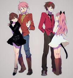 Osomatsu-san genderbend Characters: Totoko; Nya-chan(kun?)