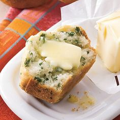 Southern Living Recipe: Fresh Herb Spoon Rolls wouldn't this be better in cornbread muffins?