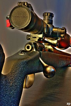 Bolt Gun Beauty by ZORIN DENU, via Flickr