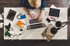 Businesswoman With a Laptop by lumina | Stocksy United