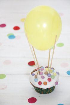 Luftballon Muffins Rezept
