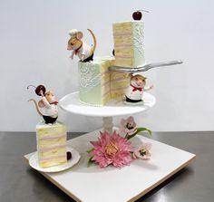 Mice Chefs - Margie Carter Cake World