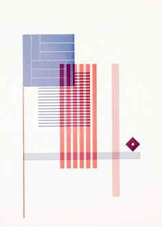 Piet Zwart, Free Composition, a typographic abstraction, 1925