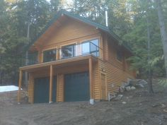 1000 images about lakehouse on pinterest a frame house for Hillside house plans with garage underneath