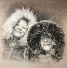 Portrait Commissions from Photos or life in Charcoal Charcoal, Portraits, Children, Artist, Photos, Painting, Life, Beautiful, Young Children