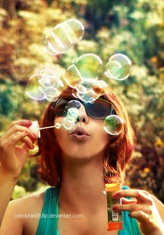 30 Unique Examples of Bubble Photography | PSDFan