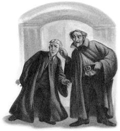 """Snape reprimanding Malfoy - HBP, """"The Unbreakable Vow"""""""