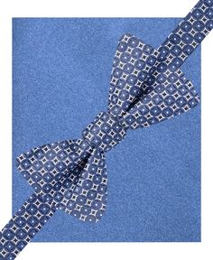 Alfani Spectrum Mason Geo Circles Pre-Tied Bow Tie & Pocket Square Set, Only at Macy's