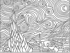 fine art coloring pages - Artist Coloring Page