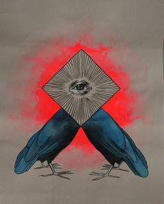 Beautiful art by my friend Sohaila Adela