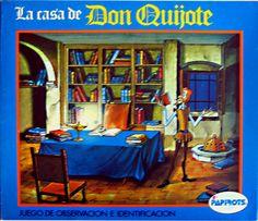 Juego de observación e identificación de la serie de dibujos animados DON QUIJOTE DE LA MANCHA (1979)
