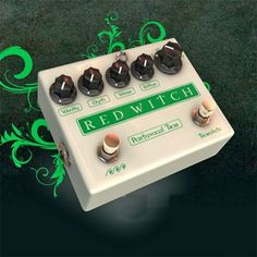 Pentavocal Tremolo Effect Pedal from SamAsh  The Pentavocal Tremolo is a tremolo with five different voices to choose from. Select the frequency response by turning the rotary selector to the desired setting. From a delicate, shimmery, flutter trem to a pulsy low end throb they're all there. The Pentavocal Tremolo can offer the classic sound of a vintage valve trem and then soooo much more.