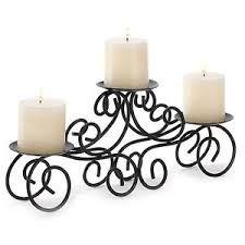 Resultado de imagen para imagenes de centros de mesa para boda hierro forjado