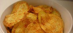 Σπιτικά πατατάκια (τσιπς) στο φούρνο