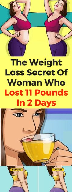 The Weight Loss Secret Of Woman Who Lost 11 Pounds In 2 Days – healthycatcher