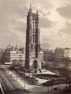 Charles Soulier (French, 1840–1875) The Tour Saint-Jacques, Paris, ca. 1867