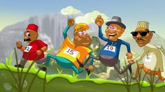 """""""Oya Run With Friends"""": A Nigerian game that challenge you to elect world leaders via tests of endurance while working on projects benefiting virtual masses in exchange for their votes - TheBlackList Pub"""