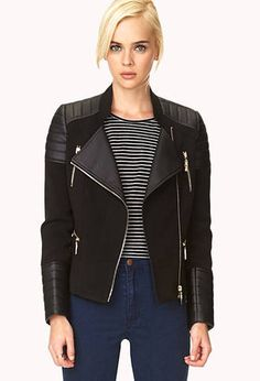 Women's Leather + Suede Jackets | Faux Leather + Suede | Forever21