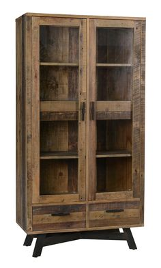 Classic Home Hauser 2 Door Cabinet. $1599.