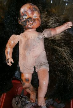 Other: - show us your zombie babies and children Halloween Doll, Halloween Stuff, Holidays Halloween, Halloween Decorations, Scary Doll Costume, Creepy Baby Dolls, Candy Shop, Show Us, Horror
