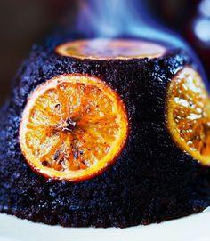 Chocolate orange alternative for christmas pudding